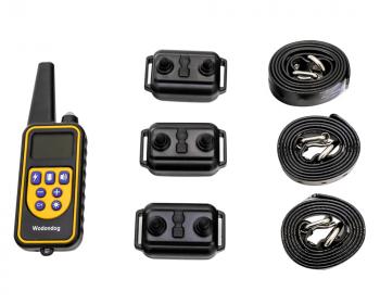 Электронный ошейник  для дрессировки собак L-880-3 (макс. 65 см) (для 3-х собак)